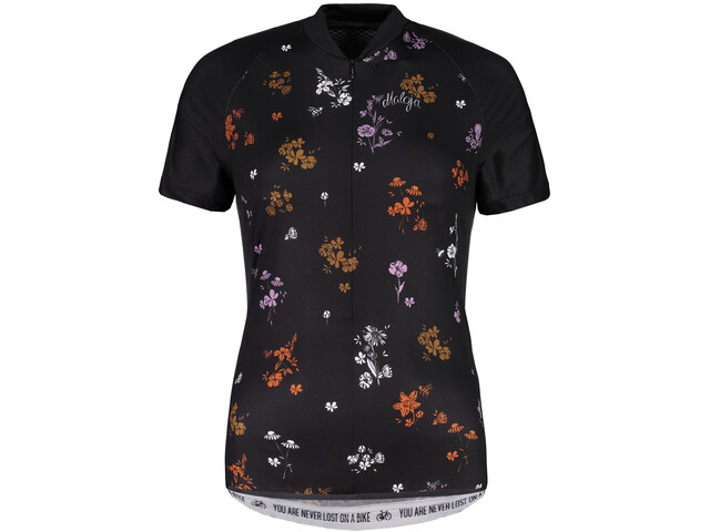 Maloja ViagravaM. AOP Shortsleeve Bike Jersey Damen moonless mountain meadow